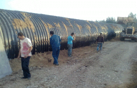 钢波纹涵管厂家 云南镀锌波纹钢管施工 排水排污