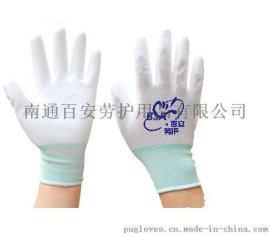 百安牌PU手套 防静电 厂家直供