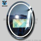 歐視顯鏡面電視浴室衛生間防水電視機智慧觸摸魔鏡
