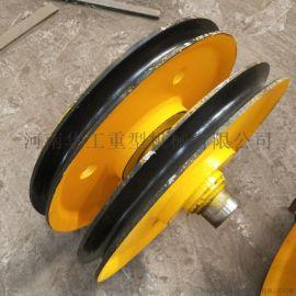 实体厂家批发供应20吨滑轮组 升降机滑轮组 球墨铸铁滑轮组 行车滑轮组滑轮片 质保期一年