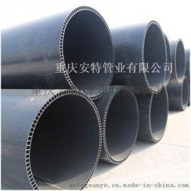 PVC-U双层轴向中空壁管材 厂家