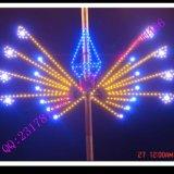 中山LED路灯杆造型灯 彩虹飞翔灯杆造型装饰 中国结