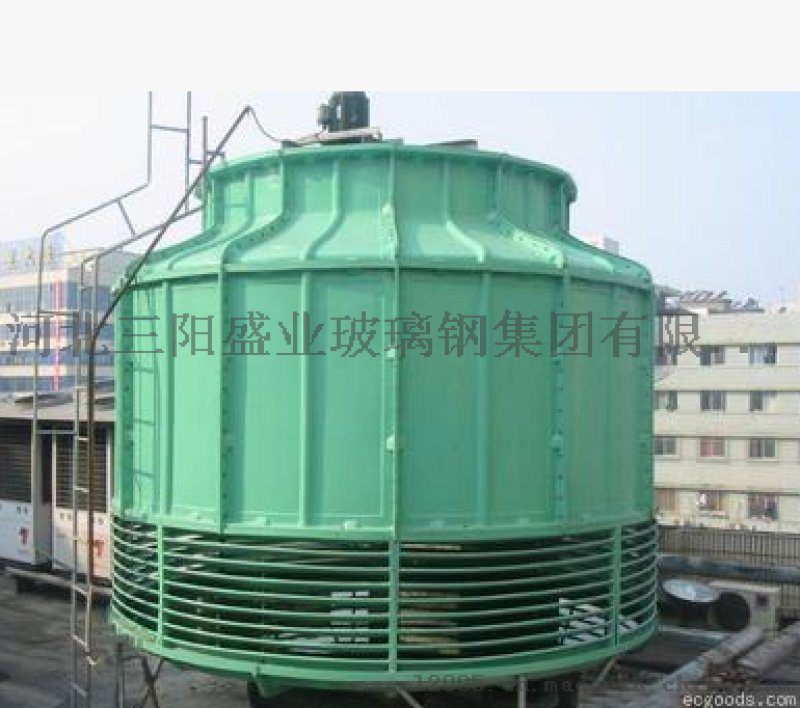 工業冷卻塔 圓形逆流冷卻塔 玻璃鋼方形冷卻塔
