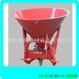 廠家定製鐵桶施肥機 拖拉機揹負式鐵桶600公斤撒肥機施肥器撒播機