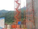 四川高桥墩安全爬梯 通达建筑施工爬梯厂家