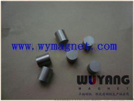 D8*15mm铝镍钴环保磁柱,550度耐高温磁铁