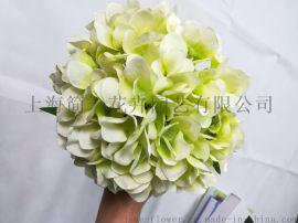 设计师的花仿真绣球花 单支婚庆绣球绢花拱门路引花