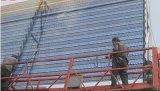 迎澤環保專用藍色衝孔防沙網防風抑塵網