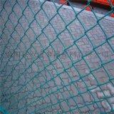 球场勾花网 PVC包塑勾花网 绿色包胶铁丝网厂