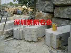 深圳石雕定做牌楼牌坊-花岗岩单门牌楼