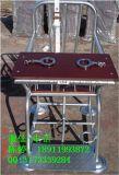 金屬漆弧形審訊椅,金屬漆軟包審訊椅,圓形審訊椅