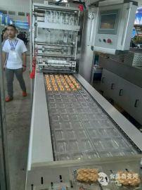 山东贝尔直销420型鱼豆腐铝箔双面拉伸真空包装机