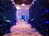 LED星空幕布 婚慶酒吧演出背景布 星星布