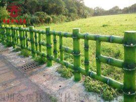 陕西仿木纹栏杆,防腐木栏杆定制厂家