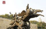 南充雕塑厂家,人物动物雕塑定制加工