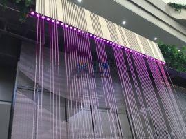 水景工程设计:光纤水幕,雕塑喷泉,玻璃幕墙