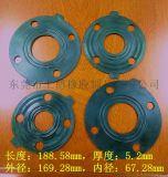 规格多样橡胶垫片 4孔密封圈,2.5寸法兰垫片
