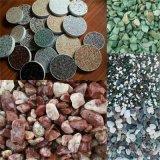 透水地坪材料用透水自然石,膠築透水石