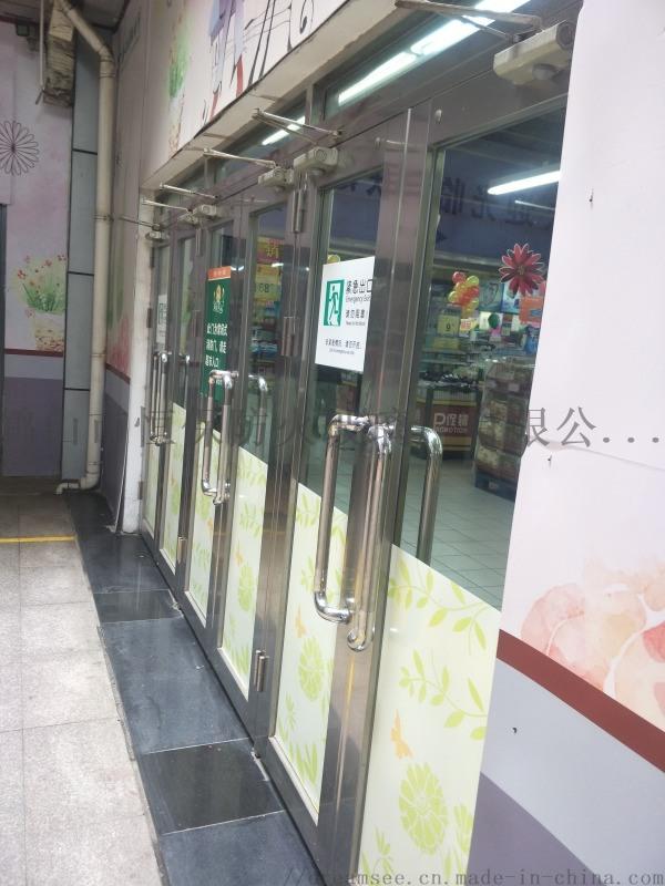 医院电梯前室乙级防火隔断带玻璃防火门
