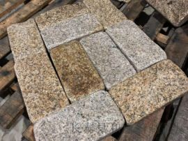 G681蝦紅文化石山東蝦紅石材礦山