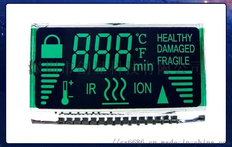 LCD 液晶显示屏 黑白屏 LCD断码屏