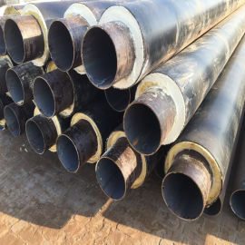 茂名鑫金龙聚氨酯钢塑复合保温 DN400/426聚氨酯热力管道