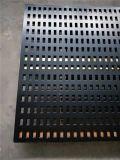 烤漆瓷磚黑色衝孔板展示架