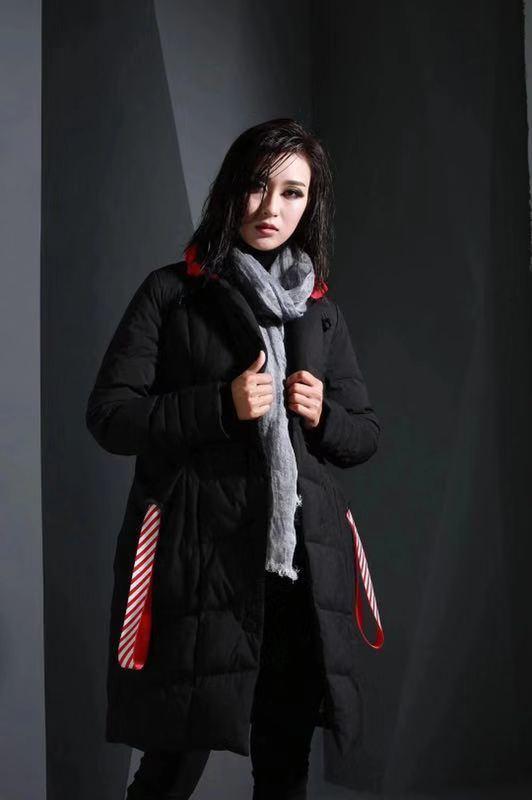 【熙蘭雅羽絨服】大牌一線折扣貨源/杭州女裝品牌走份