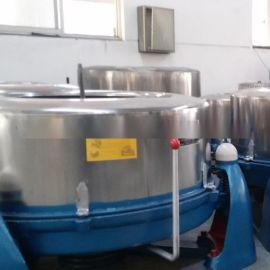 酒店洗衣房用清洗床单被罩的大型工业脱水机