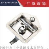 不锈钢面板锁 恒杰MS858铁工程车T型把手锁