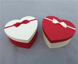 心形包装礼盒批量定制,礼品包装盒制作