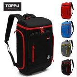 韓國TOPPU雙肩包休閒旅行包商務筆記本電腦包男士雙肩揹包TP515