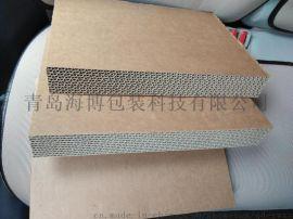 厂家直销ABe瓦楞纸板纸片 单层瓦楞纸板纸片 规格可来样定做