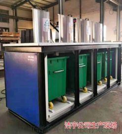 JY2200L地埋式升降式垃圾箱户外垃圾桶