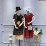 唐朝女装我想去大兴区的唯众良品品牌女装批发连衣裙品牌中年女装地摊批发时尚便宜女装
