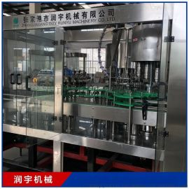 果汁饮料灌装生产线,全自动液体称重灌装