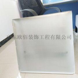 漢口工程鋁扣板595*595規格吊頂 鋁平板吊頂