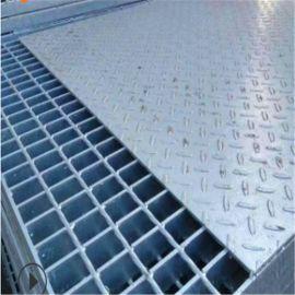防滑复合沟盖钢格栅 复合镀锌重型齿型钢格板 焊接钢格栅板网格板