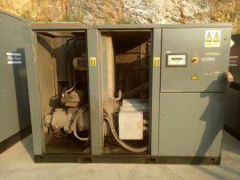回收转让二手八成新空压机 二手螺杆空气压缩机气泵