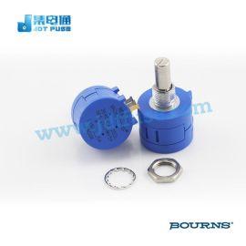 精密电位器Bourns3590S-2-202L侧调