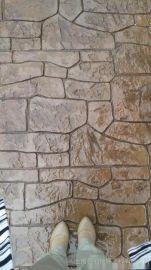常州压花地坪,彩色地坪,艺术压花地坪桓石2017348彩色混凝土