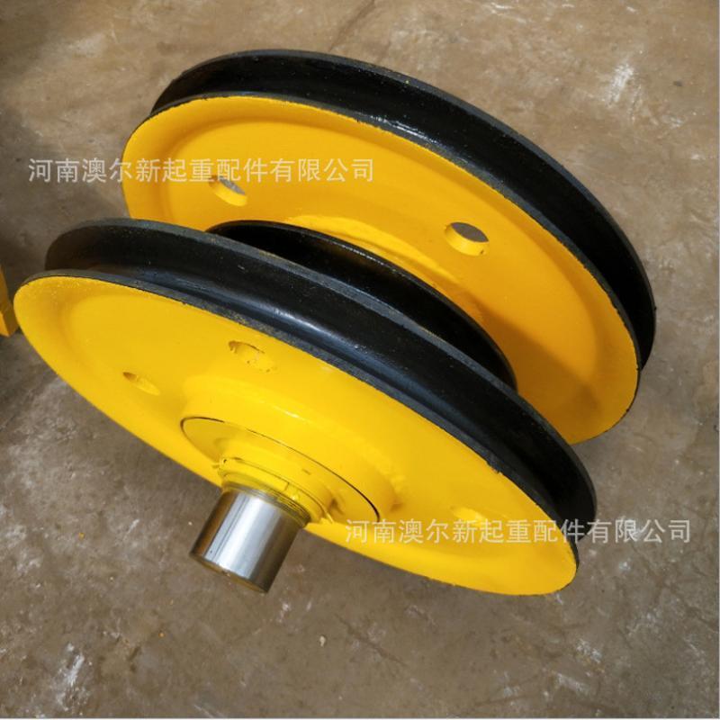起重配件铸铁滑轮组 20T耐磨**定滑轮组