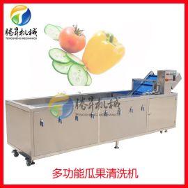 商用果蔬全自动清洗机 叶菜类气泡清洗机