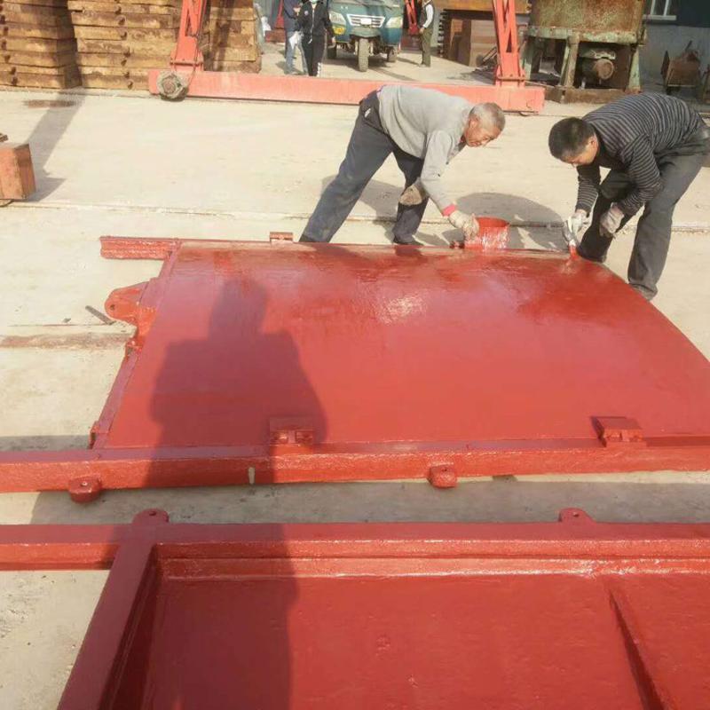 钢坝闸门 插板式钢闸门 机闸一体钢制闸门