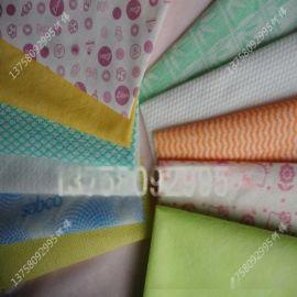 新价供应多规格出口复合水刺无纺布_定制高强复合丝水刺布厂家