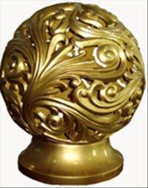 大型圆雕透雕宫灯摆件装饰品雕塑工艺品