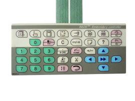 供应各型号绣花机键盘,横机开关,飞虎开关,喷码机键盘