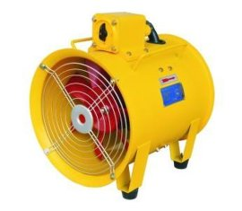 BYDF32隔爆型移动式多用轴流风机 隧道矿井通风排烟手提风机