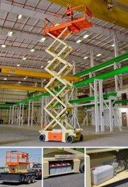 10米电动剪叉式升降平台车租赁JLG-10RS