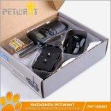 遙控式電擊震動聲音帶LCD屏寵物訓練止吠器訓狗項圈